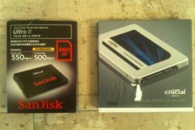 Lenovo G570 SSDに交換