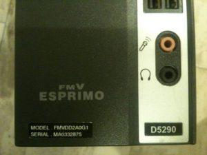 富士通 FMV-D5290 起動しない マザーボード交換 横浜市