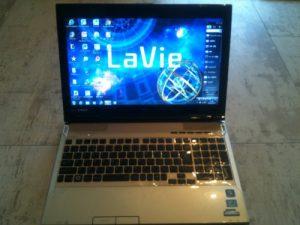LL750 ハードディスク交換 HDD交換