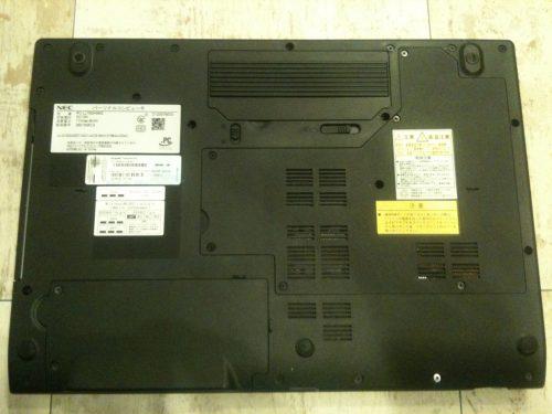 横浜市 NECパソコン修理 キーボード交換