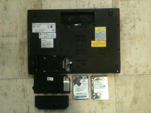 液晶交換 LL750 パソコン修理