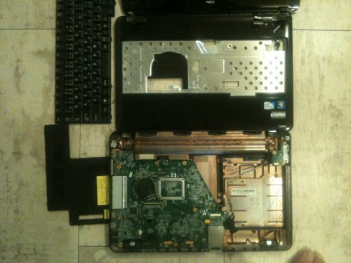 NECノートパソコン 電源点かない LAVIE修理 Lenovoレノボ修理 キーボード交換 横浜市