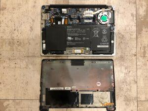 VAIO ファン交換 キーボード交換 横須賀市 横浜市 パソコン出張修理