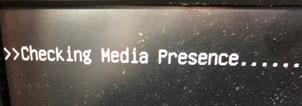 Checking media presence Windows10 起動しない パソコン出張サポート パソコン出張サービス 横浜市金沢区 戸塚区 港南区 上大岡 横浜市南区